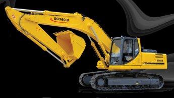 بیل چرخ زنجیری SC360-8