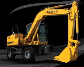 بیل چرخ لاستیکی SC130-7